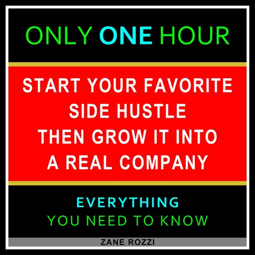 The First Steps to Starting Your New Business From Nothing, Zane Rozzi