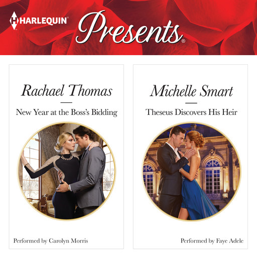New Year at the Boss's Bidding & Theseus Discovers His Heir, Michelle Smart, Rachael Thomas