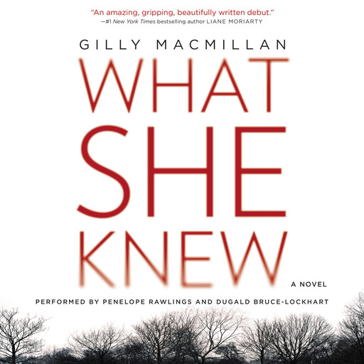 What She Knew, Gilly Macmillan