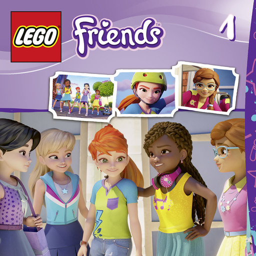 Episodes 1-4: Welcome To Heartlake City, LEGO Friends