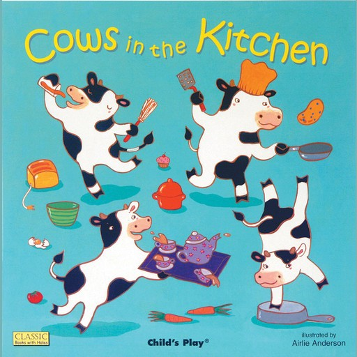 Cows in the Kitchen, Airlie Anderson