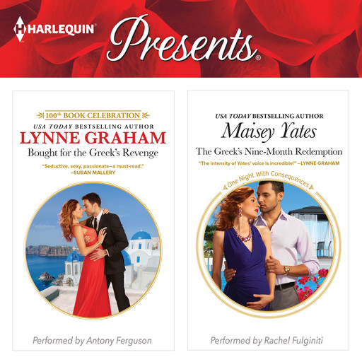 Bought for the Greek's Revenge & The Greek's Nine-Month Redemption, Lynne Graham, Maisey Yates