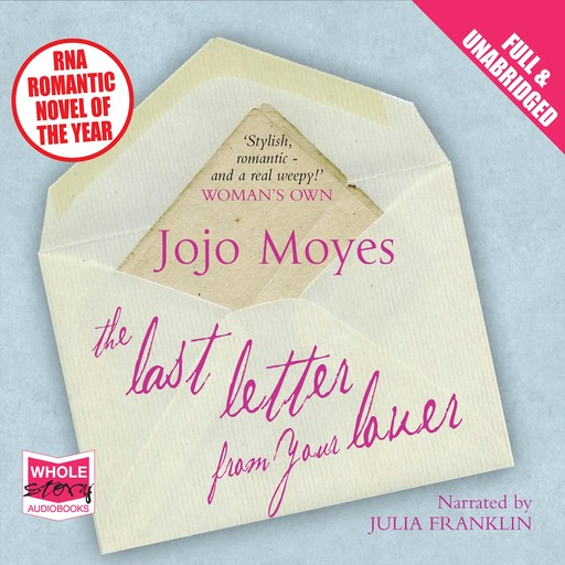 Last Letter from Your Lover, Jojo Moyes
