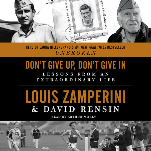 Don't Give Up, Don't Give In, David Rensin, Louis Zamperini