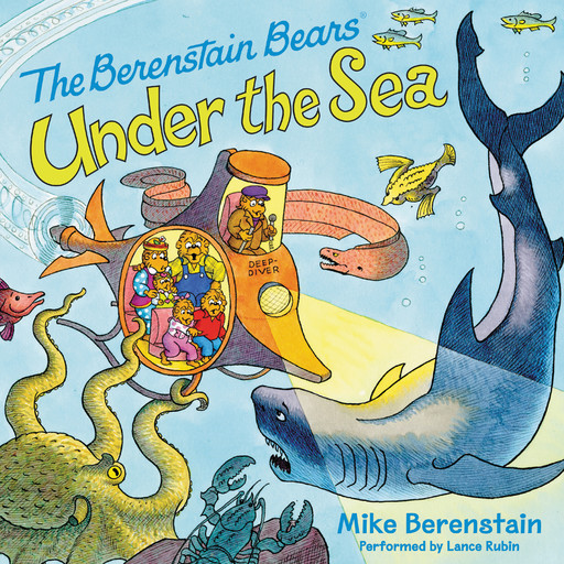 Berenstain Bears Under the Sea, Mike Berenstain