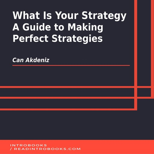 What Is Your Strategy: A Guide to Making Perfect Strategies, Can Akdeniz, Introbooks Team