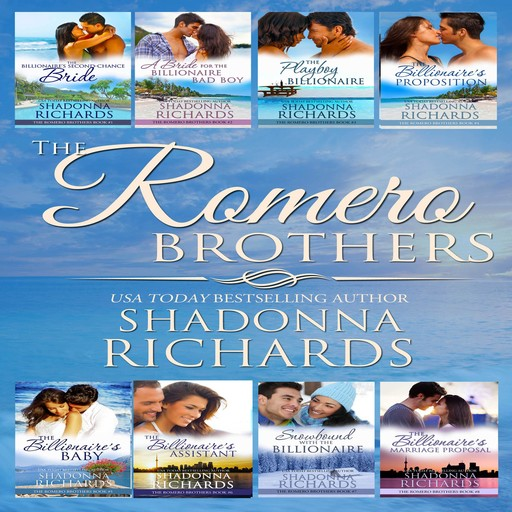 The Romero Brothers Complete Series Books 1-8, Shadonna Richards