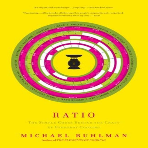 Ratio: The Simple Codes Behind the Craft of Everyday Cooking, Michael Ruhlman