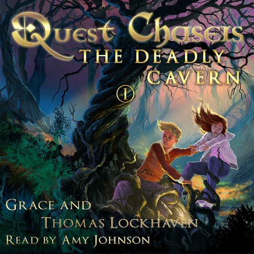 Quest Chasers: The Deadly Cavern, Grace Lockhaven, Thomas Lockhaven