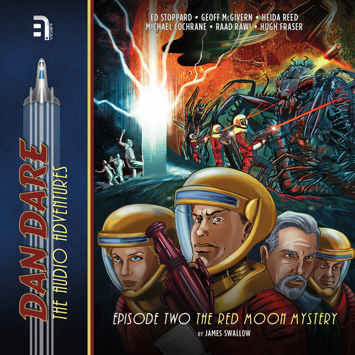 Dan Dare: The Red Moon Mystery, James Swallow