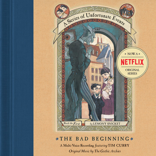 Series of Unfortunate Events #1 Multi-Voice, A: The Bad Beginning, Lemony Snicket