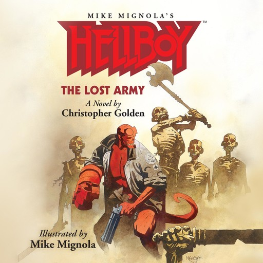 Hellboy: The Lost Army, Christopher Golden