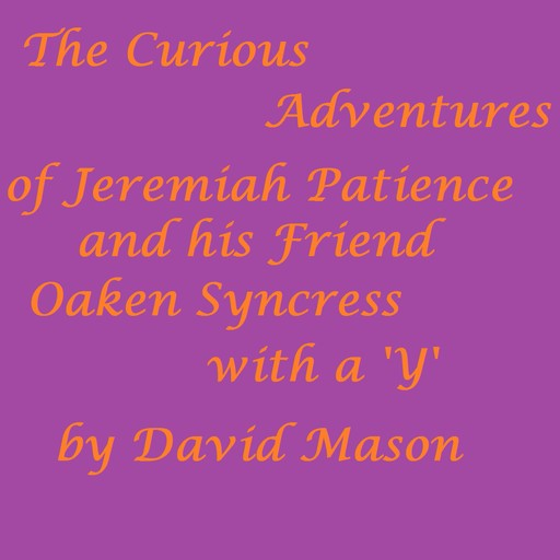 The Curious Adventures of Jeremiah Patience and his Friend Oaken Syncress with a 'Y', David Mason