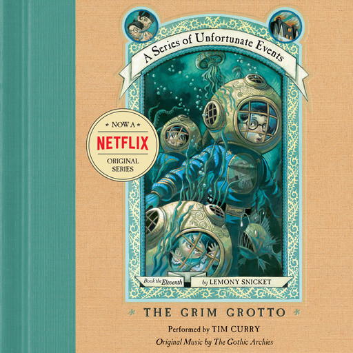 Series of Unfortunate Events #11: The Grim Grotto, Lemony Snicket
