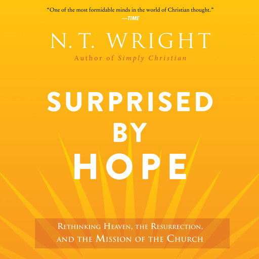 Surprised by Hope, N.T.Wright