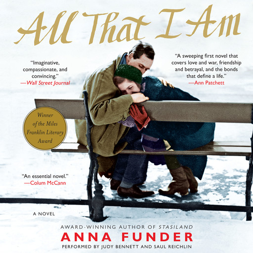 All That I Am, Anna Funder
