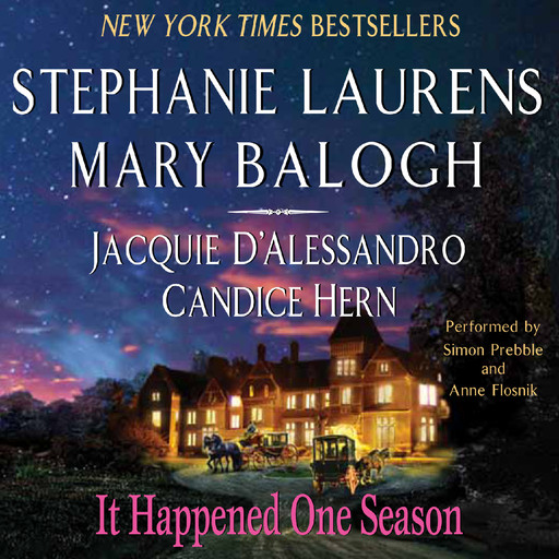 It Happened One Season, Mary Balogh, Stephanie Laurens, Jacquie D'Alessandro, Candice Hern