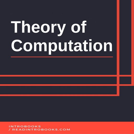 Theory of Computation, IntroBooks