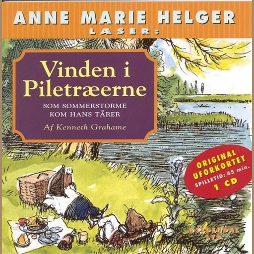 Vinden i Piletræerne 8 -, Kenneth Grahame