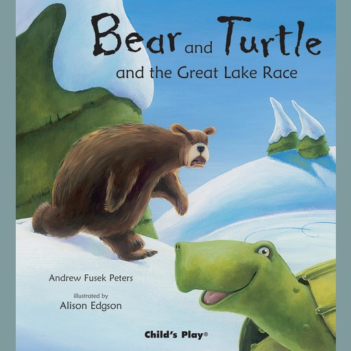 Bear and Turtle and the Great Lake Race, Andrew Fusek Peters