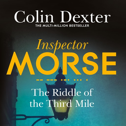 The Riddle of the Third Mile, Colin Dexter