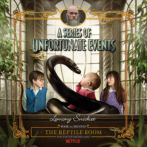 A Series of Unfortunate Events #2: The Reptile Room, Lemony Snicket