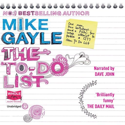 The To-Do list, Mike Gayle