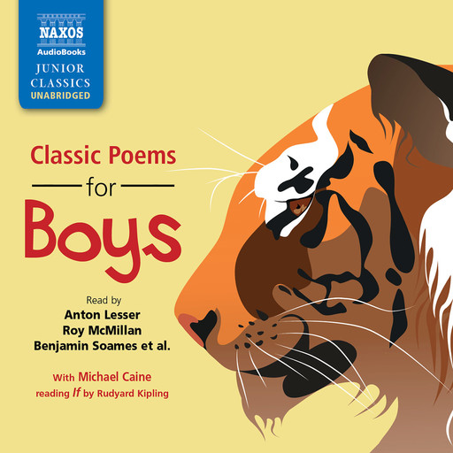 Classic Poems for Boys (unabridged), Various