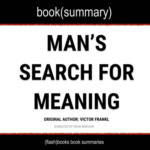 Man's Search For Meaning, Viktor Frankl, Flashbooks