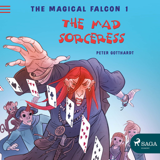 The Magical Falcon 1 - The Mad Sorceress, Peter Gotthardt