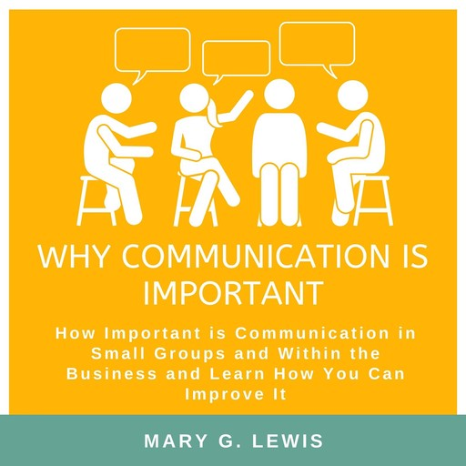 Why communication is important: How Important is Communication in Small Groups and Within the Business and Learn How You Can Improve It, Mary G. Lewis
