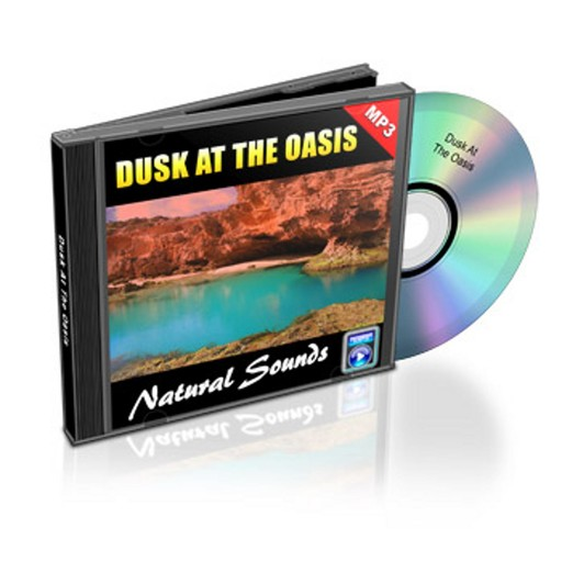 Dusk At The Oasis - Relaxation Music and Sounds, Empowered Living