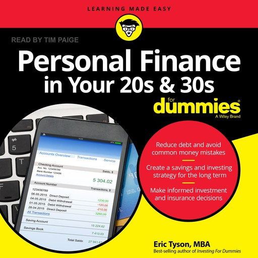 Personal Finance in Your 20s and 30s For Dummies, Eric Tyson, M.B.A.