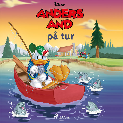 Anders And på tur, Disney