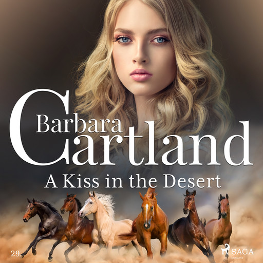 A Kiss in the Desert, Barbara Cartland
