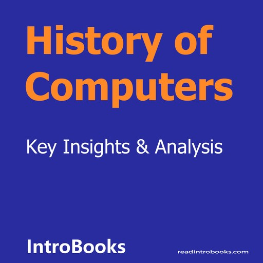 History of Computers, Introbooks Team