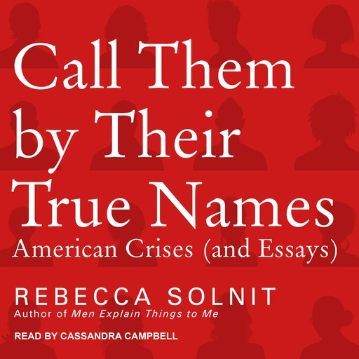 Call Them By Their True Names, Rebecca Solnit