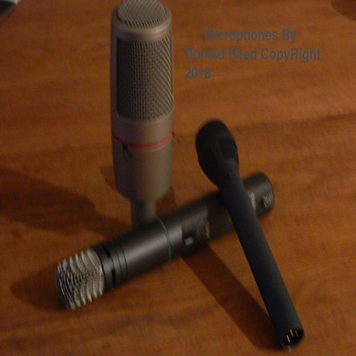 Microphones By Donald Reed, Donald Reed