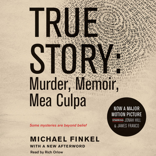 True Story tie-in edtion, Michael Finkel