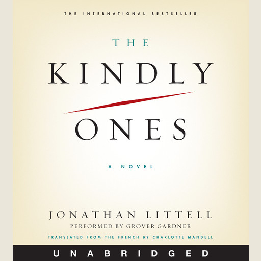 The Kindly Ones, Jonathan Littell