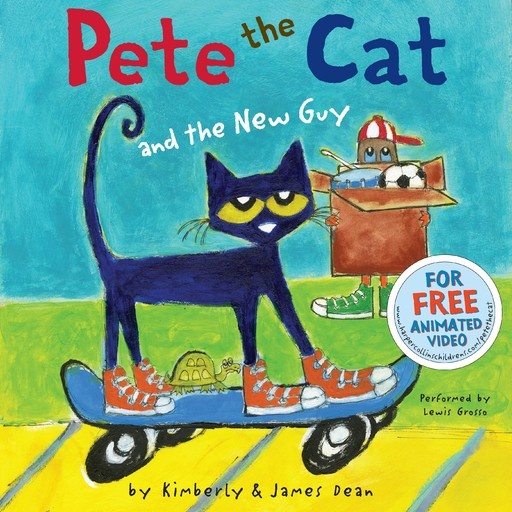 Pete the Cat and the New Guy, Kimberly Dean, James Dean