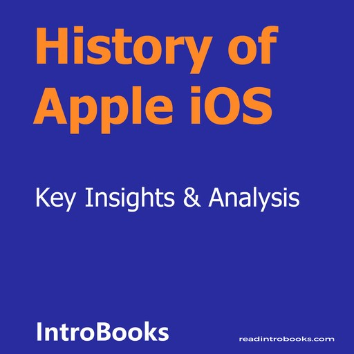 History of Apple iOS, Introbooks Team