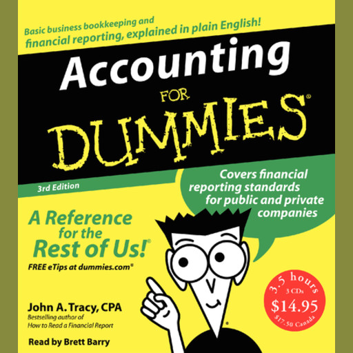 Accounting for Dummies 3rd Ed., John A.Tracy