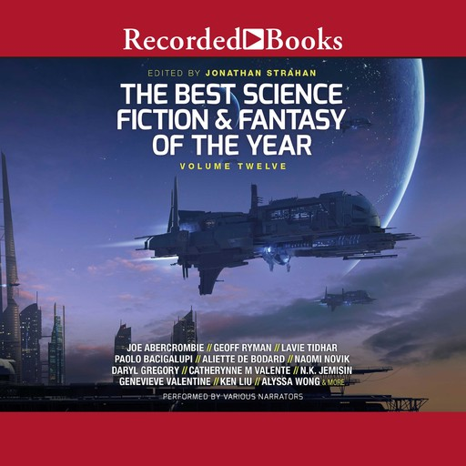 The Best Science Fiction and Fantasy of the Year, Jonathan Strahan