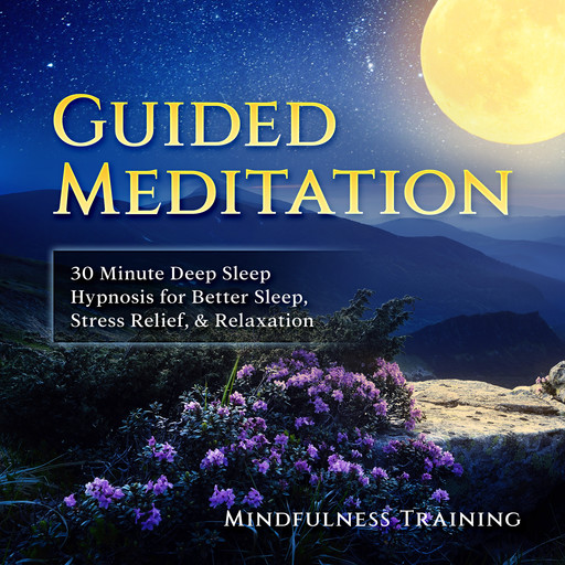 Guided Meditation: 30 Minute Deep Sleep Hypnosis for Better Sleep, Stress Relief, & Relaxation (Self Hypnosis, Affirmations, Guided Imagery & Relaxation Techniques), Mindfulness Training