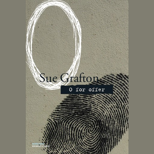 O for offer, Sue Grafton