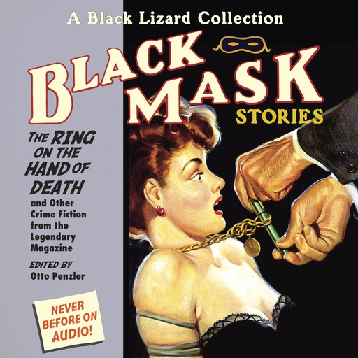 Black Mask 5: The Ring on the Hand of Death, Otto Penzler