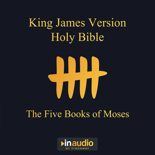 King James Version Holy Bible - The Five Books of Moses, Uncredited