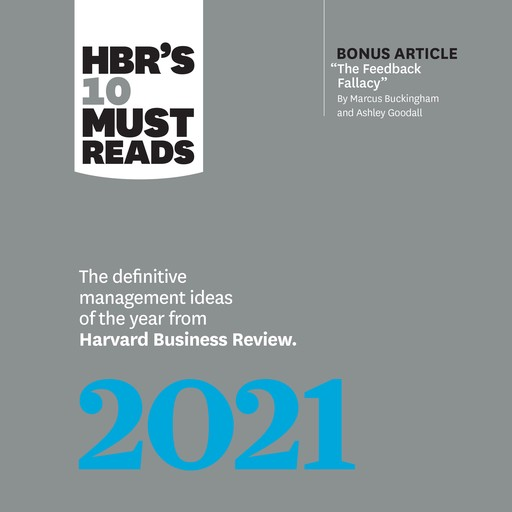 HBR's 10 Must Reads 2021, Harvard Business Review