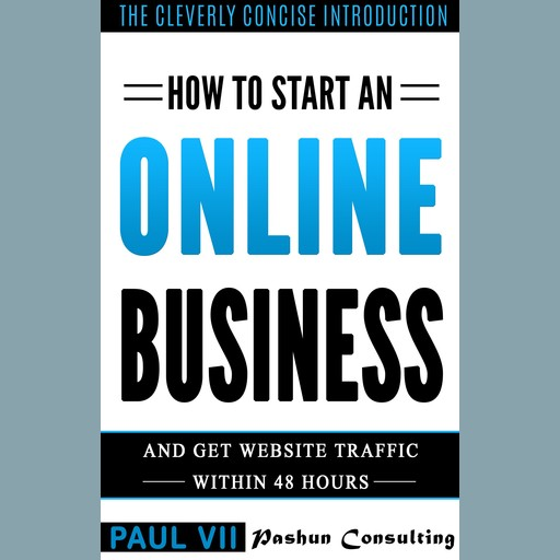 How to Start an Online Business: And Get Website Traffic Within 48 Hours: The Cleverly Concise Introduction, Paul VII